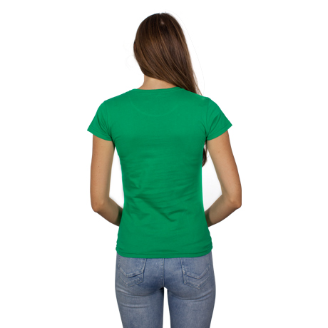 Ladies NTNM Bright Green Tee
