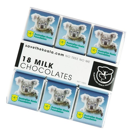 Milk Chocolates - 18 Pack
