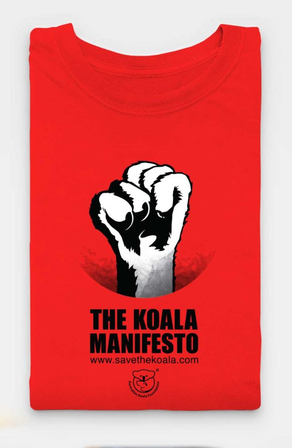 The Koala Manifesto Tshirt